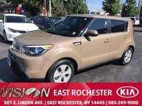 CARFAX One-Owner. Latte Brown 2016 Kia Soul FWD 6-Speed
