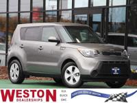 CARFAX One-Owner. 2016 Kia Soul Gray One Owner, Fresh