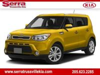 CARFAX One-Owner. Bright Silver 2016 Kia Soul FWD