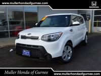 Options:  2016 Kia Soul Base|White/|V4 1.6 L