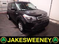 Our 2016 Kia Soul in Shadow Black is eager to exceed