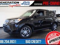 Kia Certified, Shadow Black, and 2016 Kia Soul. Get