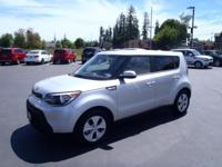 CARFAX One-Owner. 2016 Kia Soul Silver One Owner, Fresh