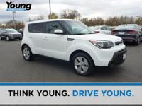 CARFAX One-Owner. Certified. White 2016 Kia Soul FWD