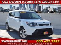 CARFAX One-Owner. Clean CARFAX. White 2016 Kia Soul 4D