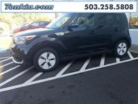 WOW!!! Check out this. 2016 Kia Soul EV Shadow Black