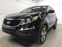 Options:  2016 Kia Sportage Ex|Black|Odometer Is 5976