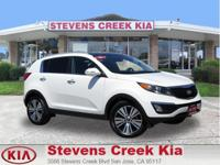 Options:  2016 Kia Sportage Ex|White|2.4L Inline