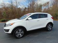 This outstanding example of a 2016 Kia Sportage EX is