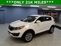 SPORTAGE LX FWD WITH 22K MILES ,KEYLESS REMOTE ,CD