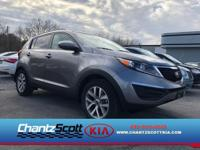 AWD, This Kia Sportage is CERTIFIED! Low miles for a