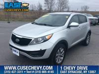 Trustworthy and worry-free, this 2016 Kia Sportage LX