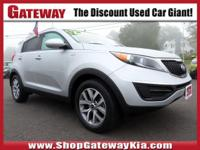 AWD. CARFAX One-Owner. Clean CARFAX.Bright Silver 2016