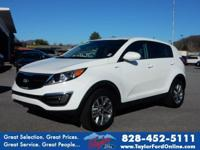 Options:  2016 Kia Sportage Lx|Awd Lx 4Dr Suv|New