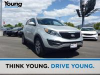 2016 Kia Sportage LX. AWD. Drive this home today!