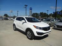 Introducing the 2016 Kia Sportage! Demonstrating that