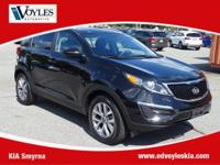 2016 Kia Sportage LX Black Cherry comes with a 10 year
