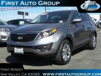 Check out this certified 2016 Kia Sportage LX. Its