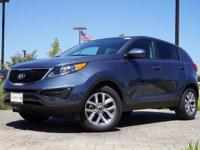 2016 Kia Sportage LX in Twilight Blue, This Sportage