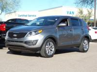 Just Reduced!  CARFAX One-Owner.  2016 Kia Sportage LX