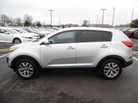 This outstanding example of a 2016 Kia Sportage LX is