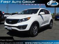 New Arrival! This Kia Sportage is Certified Preowned!