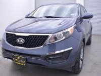 LX trim, Twilight Blue exterior and Alpine Gray