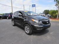 Clean Carfax - 1 Owner. Sportage LX, 4D Sport Utility,