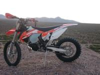 2016 KTM 300XC. Like new, senior ridden, never crashed.