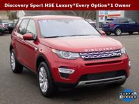 Just Arrived**2016 Land Rover Discovery Sport HSE