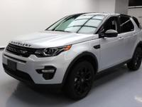 2016 Land Rover Discovery with 2.0L Turbocharged I4