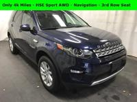 3rd Row Seating - Navigation - HSE Sport 4x4 - Lorie
