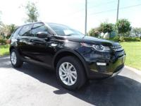 This 2016 Land Rover Discovery Sport HSE is featured in