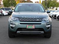 Options:  2016 Land Rover Discovery Sport W/Navigation