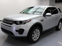 This awesome 2016 Land Rover Discovery 4x4 comes loaded