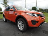 This 2016 Land Rover Discovery Sport SE is featured in