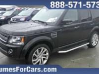 Checkout this Humes 2016 Black Land Rover Base 4x4 with