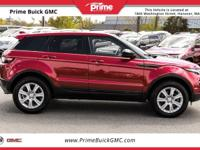 2016 Land Rover Range Rover Evoque SE CARFAX One-Owner.