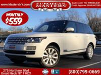 This Amazing White 2016 Land Rover Range Rover HSE 4x4