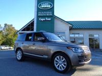 2016 Range Rover HSE. This New Range Rover comes well