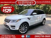 This Lovely White 2016 Land Rover Range Rover Sport HSE