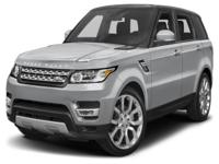 Options:  2016 Land Rover Range Rover Sport 3.0