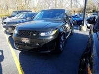 2016 Range Rover Supercharged SVR Options Include,