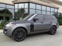 2016 Land Rover Range Rover Supercharged EBONY