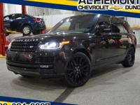 This Mariana Black 2016 Land Rover Range Rover with