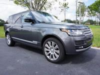 This 2016 Land Rover Range Rover is featured in Corris
