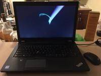 Like-New Lenovo ThinkPad P70 (Originally Purchased from