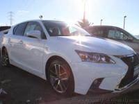 This 2016 Lexus CT 4dr CT 200h Hatchback 4D features a