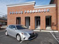 Delivers 40 Highway MPG and 43 City MPG! This Lexus CT