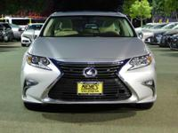 Options:  2016 Lexus Es 350|Silver/Parchment W/Birds